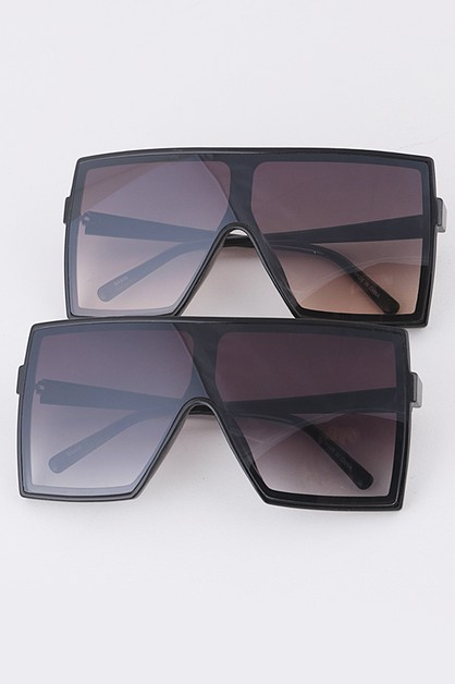 Square Oversize Iconic Sunglasses Se - orangeshine.com