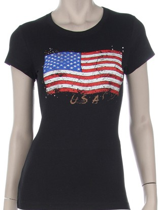VINTAGE STARS & STRIPES USA  - orangeshine.com