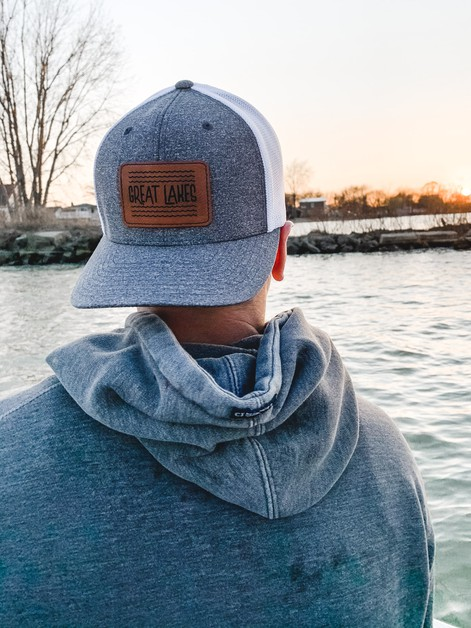 Great Lakes laser engraved Hat - orangeshine.com