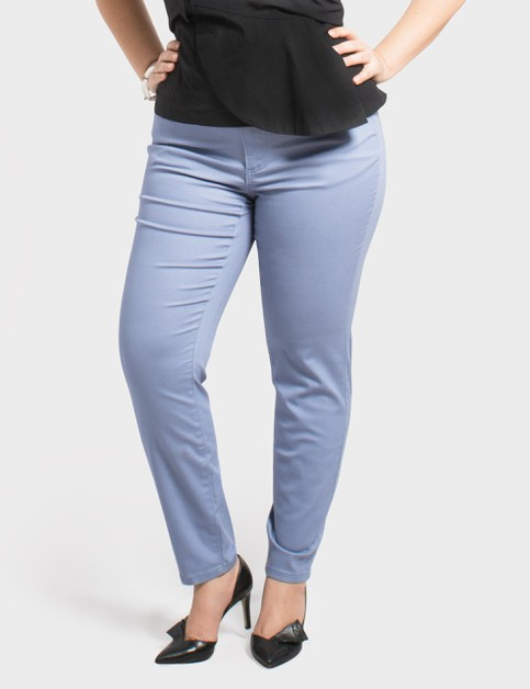 Plus Size Stretch Ankle Pants - orangeshine.com