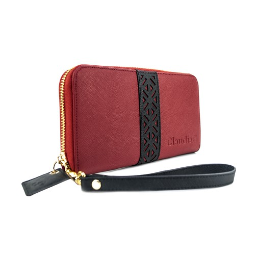 Layla Leather Wallet - orangeshine.com
