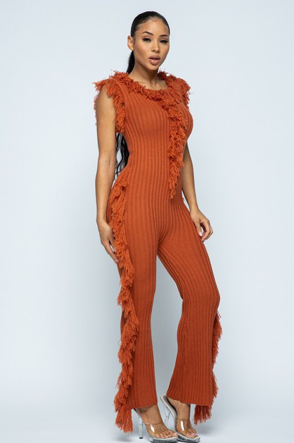KNIT JUMP SUIT - orangeshine.com