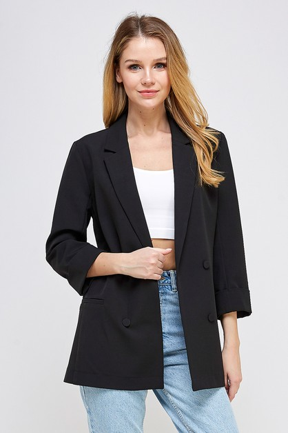 BLAZER WITH POCKETS - orangeshine.com