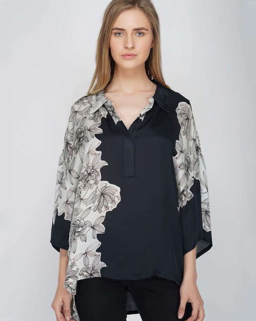 Monochrome Top - orangeshine.com