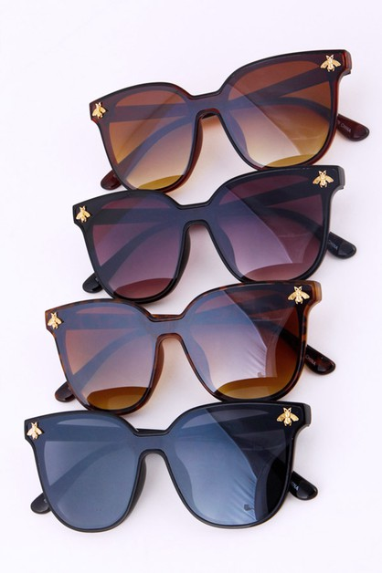 Golden Bee Accent Classic Sunglasses - orangeshine.com