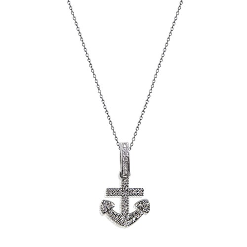 Anchor Necklace - orangeshine.com