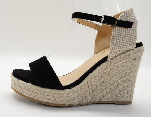 Wedges Ankle Strap Sandals - orangeshine.com