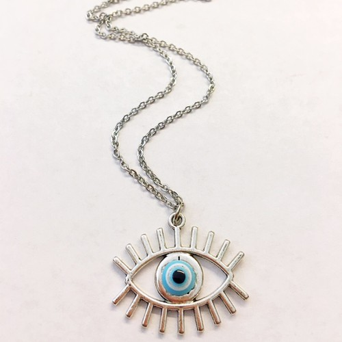 evil eye necklace - orangeshine.com