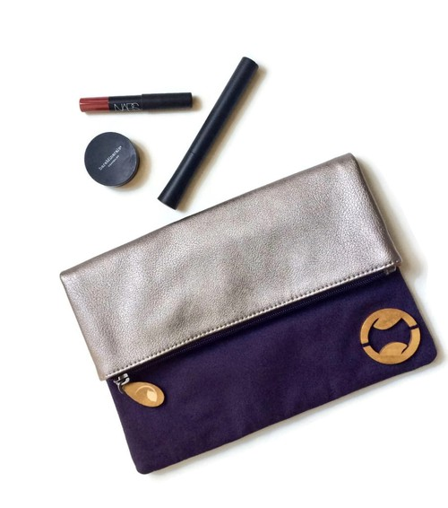 Organic Cotton Clutch - orangeshine.com