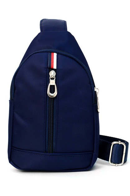 Small Navy Crossbody Sling Bag - orangeshine.com