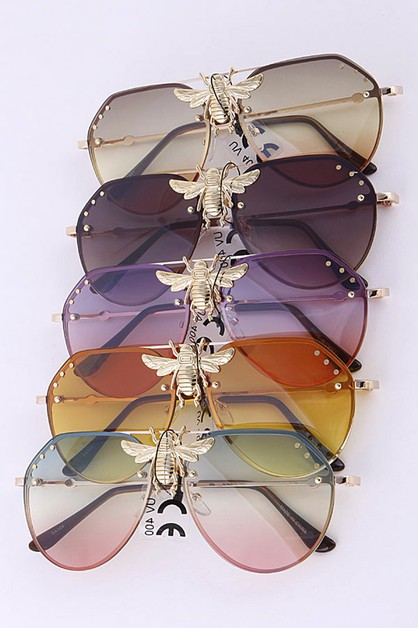 Golden Bee Iconic Aviator Sunglasses - orangeshine.com