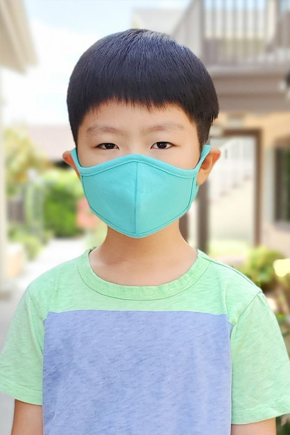 PLAIN REUSABLE FACE MASK FOR KIDS - orangeshine.com