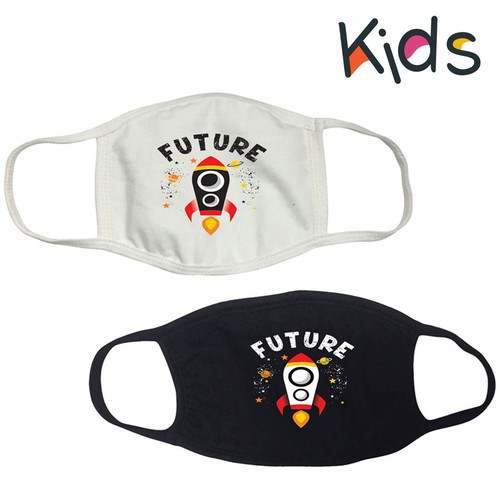 FUTURE PRINT KIDS MASK - orangeshine.com