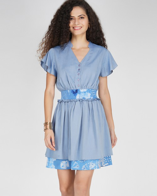 Bonnie Blue dress - orangeshine.com