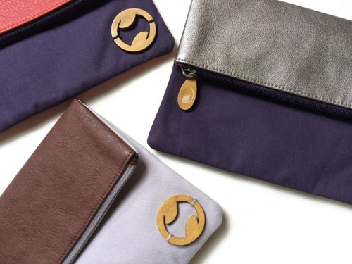 Organic Clutch and iPad Bag - orangeshine.com