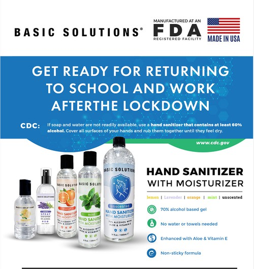 Hand Sanitizer With Moisturizer - orangeshine.com
