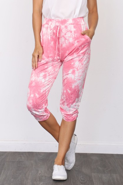 Cloud Tie Dye Effect Jogger - orangeshine.com