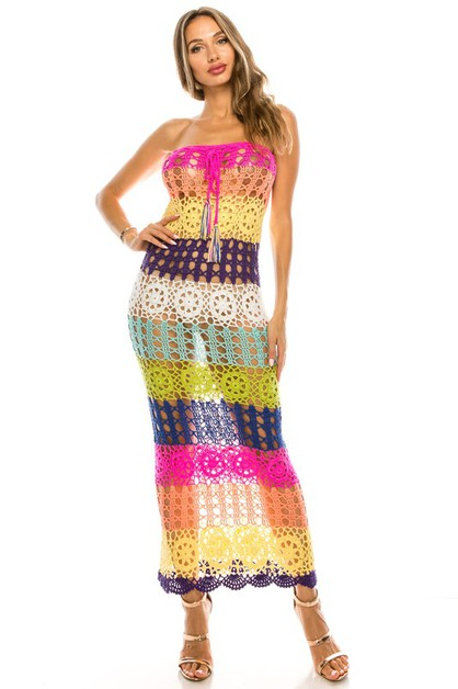 COVER UP DRESS - orangeshine.com