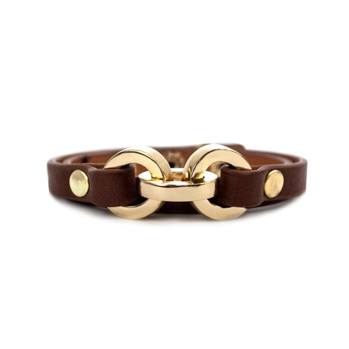 Latch Leather Bracelet - orangeshine.com