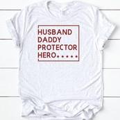 DAD Husband Father Protector - orangeshine.com