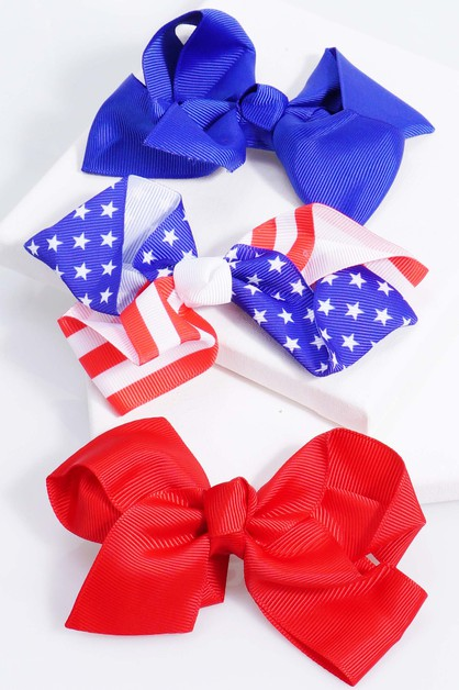 Fourth of July Bow Tie - orangeshine.com