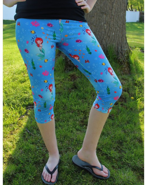 Mermaid Capris - orangeshine.com