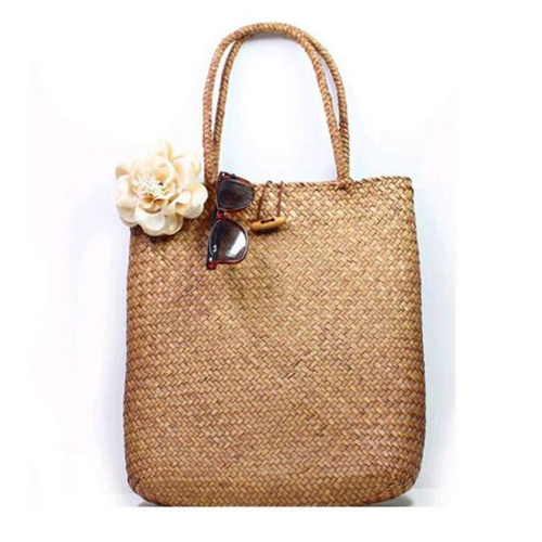 Straw Shopping Bag - orangeshine.com