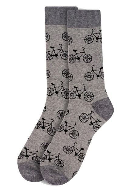 Mens Bicycle Novelty Socks - orangeshine.com