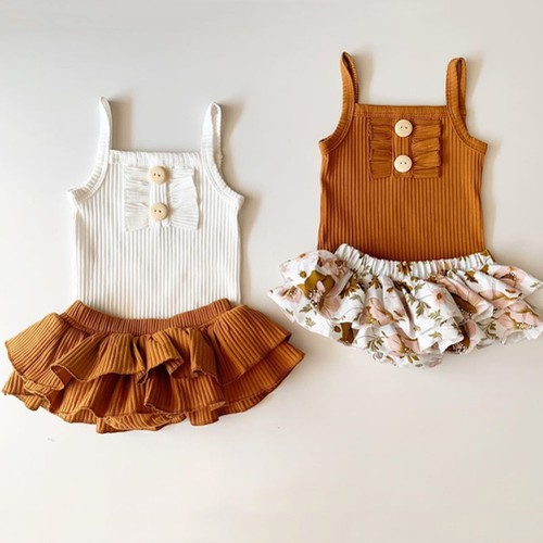 Baby girls 2 pc outfit sets - orangeshine.com