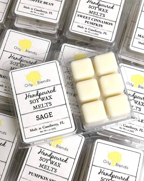 3 oz Soy Wax Melts - orangeshine.com