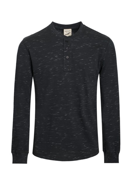 Mens Henley Long Sleeve T-shirts - orangeshine.com