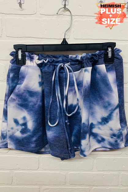 PLUS TIE DYE PANTS - orangeshine.com