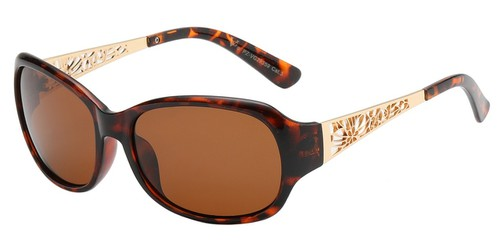Polarized Lens Oval Sunglasses - orangeshine.com