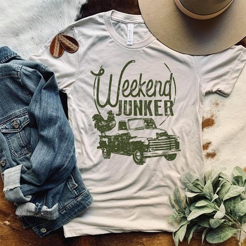 WEEKEND JUNKER GRAPHIC TEES - orangeshine.com