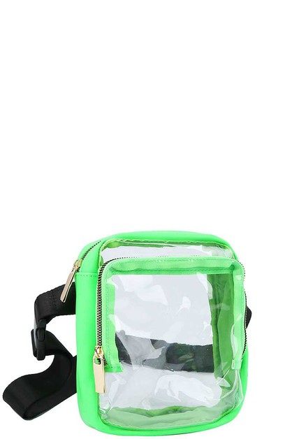 TRANSPARENT CUTE CROSSBODY  - orangeshine.com