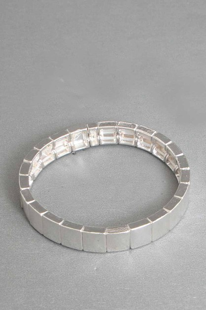 METAL STRETCH BRACELET  - orangeshine.com