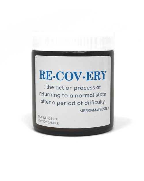 Recovery Candles - orangeshine.com