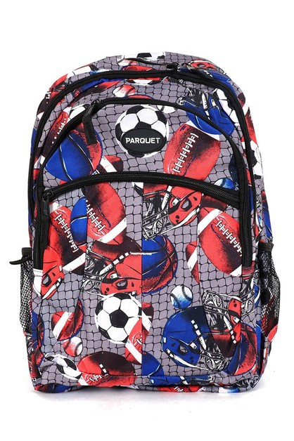 Football  Soccer Novelty Backpack - orangeshine.com