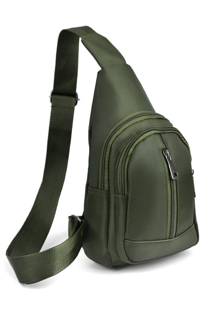 Olive Crossbody Sling Bag Backpack - orangeshine.com