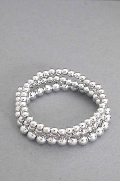 3 PCS SET  BALL STRETCH BRACELET - orangeshine.com