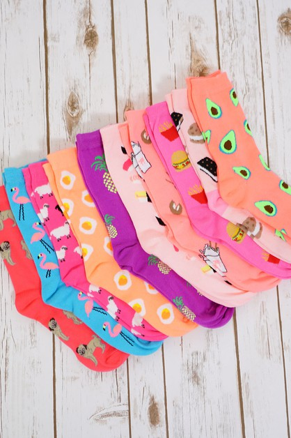 Assorted Fun Socks - orangeshine.com