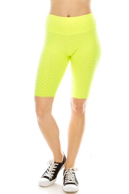 Scrunch biker shorts - orangeshine.com