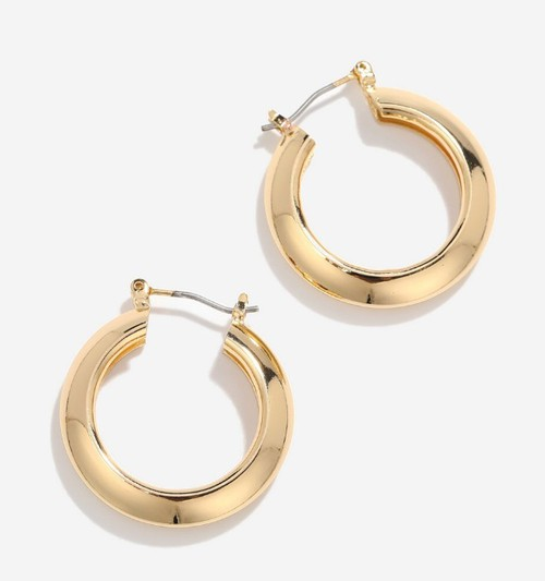 Gold Hoop Earring - orangeshine.com