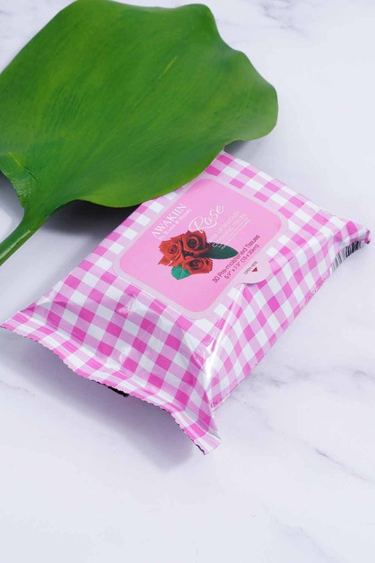 Rose Water Wipes - orangeshine.com