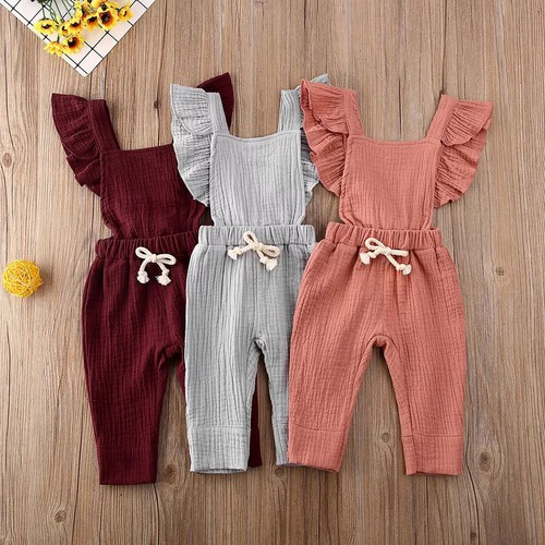 Girls muslin jumpsuit - orangeshine.com