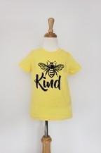Bee Kind Kid Tshirt - orangeshine.com