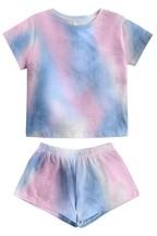 Print Home Pajamas Set - orangeshine.com