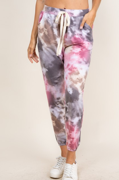 TIE DYE SIDE POCKET JOGGER - orangeshine.com