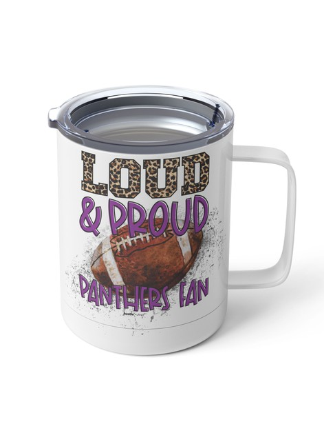 Loud and Proud Custom Steel Mug - orangeshine.com