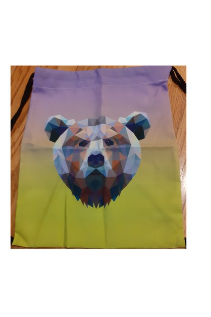 Sublimated Drawstring Bag - orangeshine.com